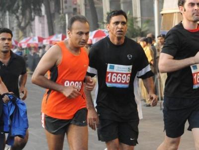 Анил Амбани марафон