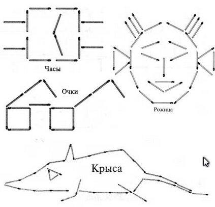 Пример возможных схем: