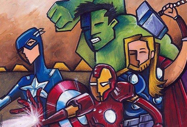 Какие 4 супергероя работают в любом отделе продаж