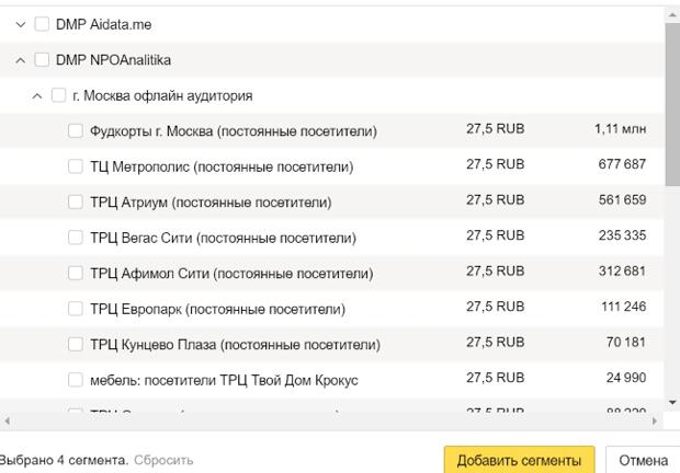 Яндекс.Аудитория