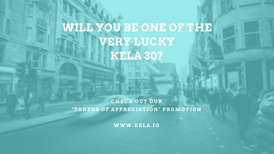 Show will you be one of the lucky kela 30